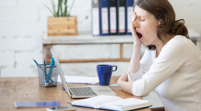 Trattare con Job Burnout